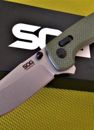 Складной нож SOG Terminus XR G10 OD Green