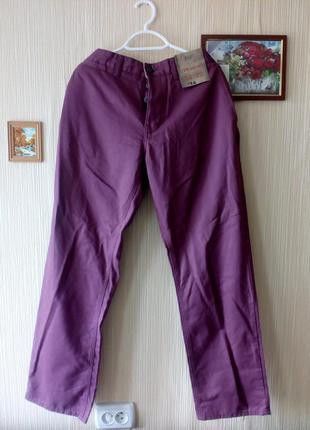 Джинсы брюки мужские из натуральной хлопковой ткани