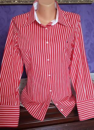Брендовая женская рубашка от tommy hilfiger
