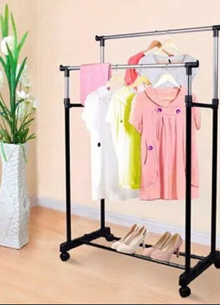 Вешалка -  Стойка для  одежды  на колесах