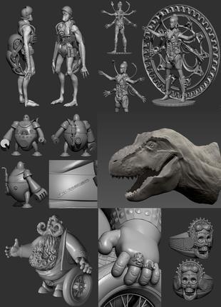 3D модель по вашему эскизу