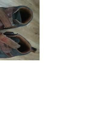 Ботинки на мальчика 29-30 размер