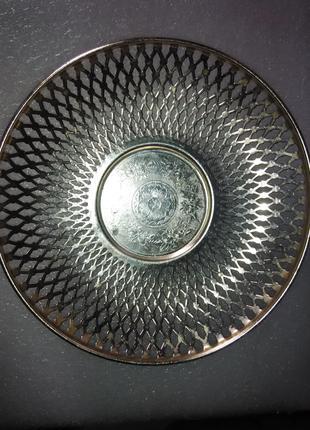 Советская алюминиевая хлебница