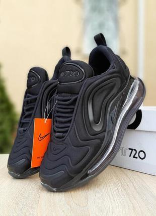 Nike air max 720 черные 🆕 женские кроссовки найк аир макс 720 ...