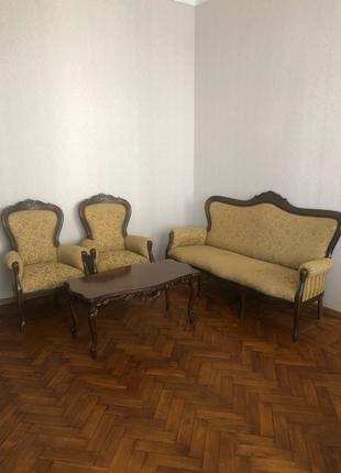 Кресло, Диван и столик Италия комплект