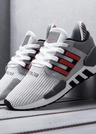 Adidas eqt support 91/18 мужские кроссовки адидас серые с крас...