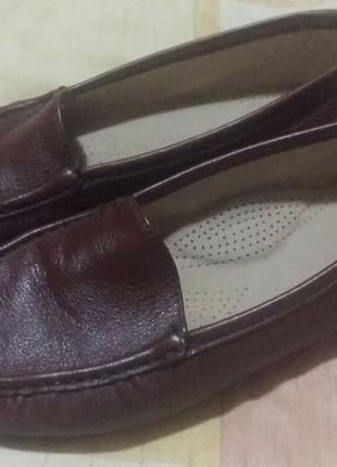 Туфли, макасины натуральная кожа