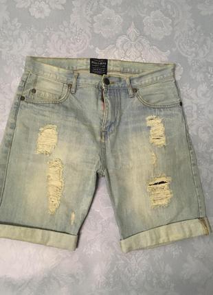 Шорты джинсовые шорты
