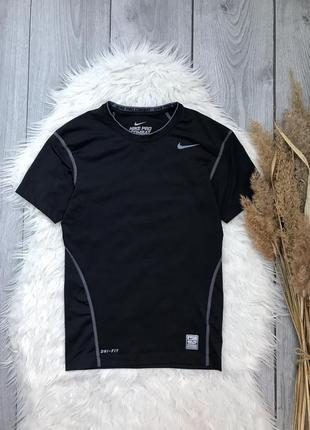 🔥акция 1+1=3🔥 футболка nike найк чёрная спортивная размер s 36...