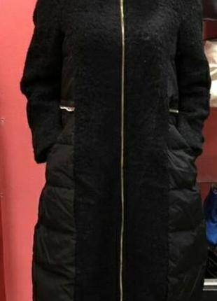 Крутое пальто пуховик s, m