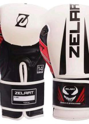 Перчатки боксерские Zelart ™ Веном