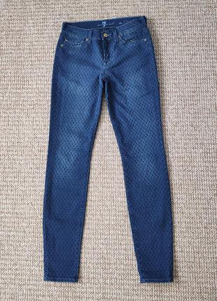 7 for all mankind джинсы skinny скинни made in italy оригинал ...