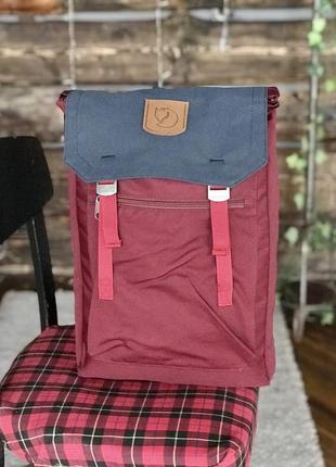 Туристический рюкзак fjallraven foldsack g-1000 купить фьялрав...