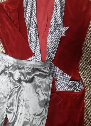 Красивый мужской домашний костюм delafense, р. м