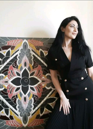 Керамическое панно мозаика 100×100 см в одном экземпляре handmade