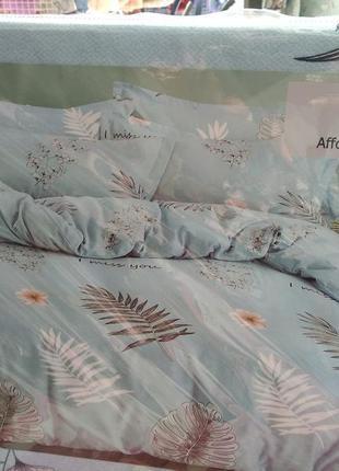 """Двухспальный комплект постельного белья из фланели тм""""класик"""""""