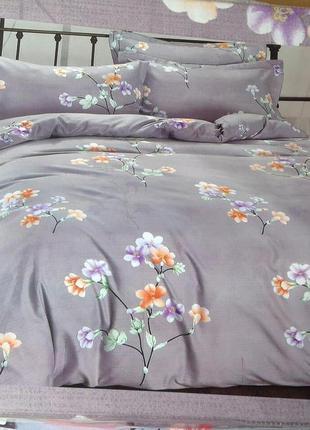 """Двухспальный комплект постельного белья из фланели тм""""классик"""""""