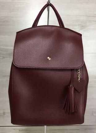 Рюкзак трансформер, молодежный женский городской рюкзак сумка ...
