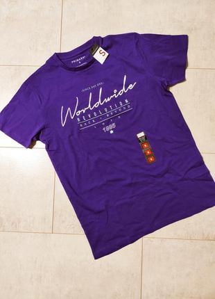 Стильная мужская футболка принт надписи