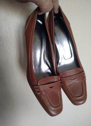 Женские туфли Manfield 39 1/2 (27 см) натуральная кожа
