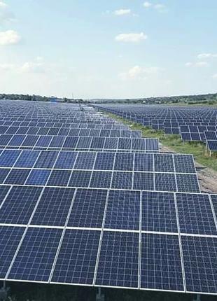 Інвестиції в промислову сонячну електростанцію