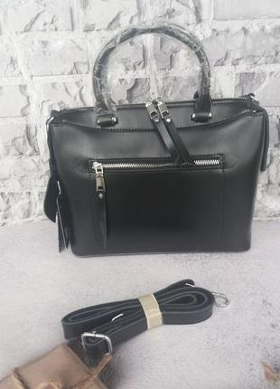 Шкіряна жіноча сумка кожаная женская сумка из натуральной кожи