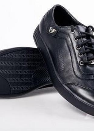 Туфли мокасины мужские кожаные