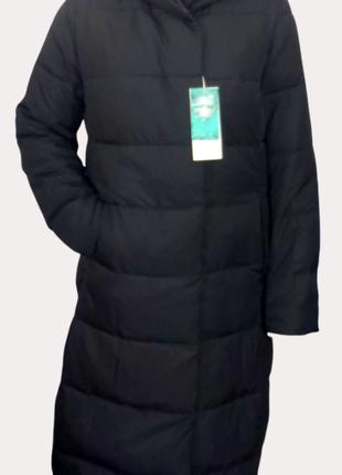 Женское длинное пуховое пальто разм.50 TM2396.