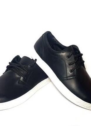 Кеды мокасины туфли мужские кожаные