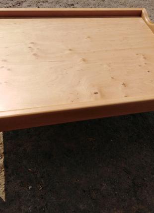Столик для завтрака, светлая ольха