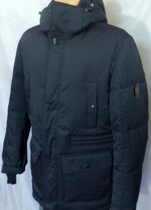 Зимняя мужская удлиненная куртка ЕЕ094