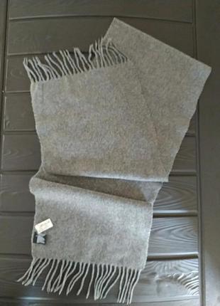 Ma.al.bi. италия 100% кашемир мужской шарф