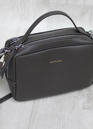 Женская сумка натуральная кожа кожаная сумка polina eiterou