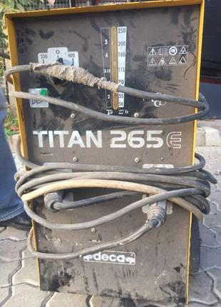 Сварочный трансформатор Deca TITAN 265E