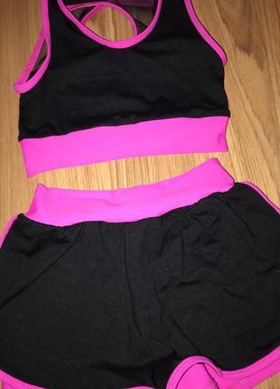 Тренировочный костюм для гимнастики.новый.
