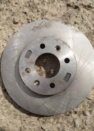 Тормозной диск передний Ferodo DDF1603 Хюндай Акцент / КИА РИО