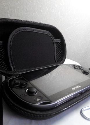 Sony Playstation PS Vita Slim Fat чехол кейс твердый на змейке