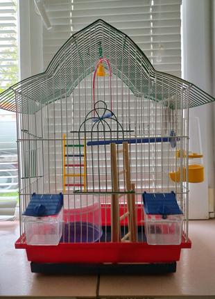 Клітка для папуги