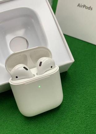 Apple airpods 2 с беспроводной зарядкой (high copy)