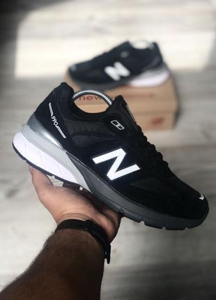 New Balance 990 Black White
