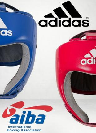 Шлем боксерский adidas с лицензией aiba