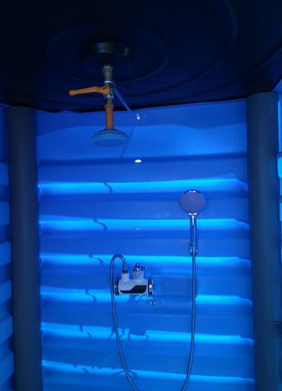 Летный душ. Душевая кабина