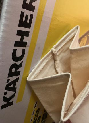 Многоразовый Фильтр Мешок на пылесос Karcher WD3
