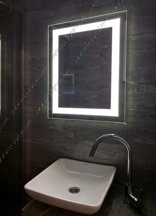 Зеркала с LED подсветкой для ванной комнаты. 10ВТ! КАРКАС - ПЛАСТ