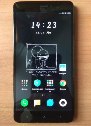 Xiaomi Redmi Note 4x 3x32gb со сканером отпечатка