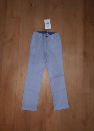 Новые нарядные брюки chicco 122