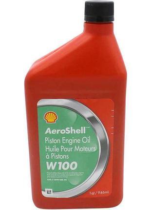 Авиационное масло Aeroshell W100