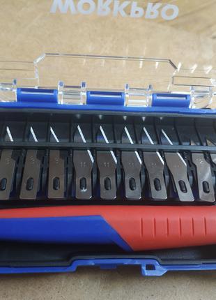 WORKPRO Набор перовых ремесленных ножей для точных работ (14 шт)