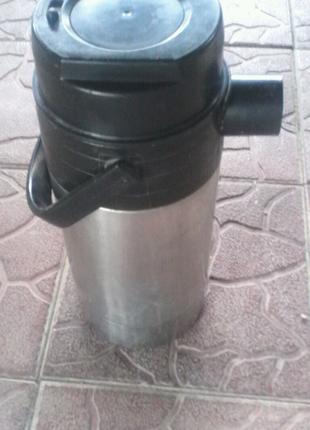 Термос объем два литра