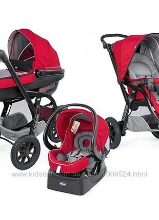 Коляска детская Chicco 3 В 1 TRIO ACTIV3